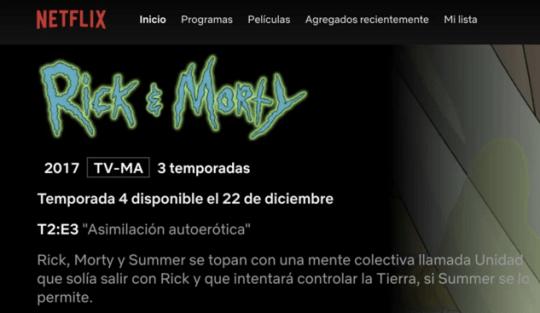 rick and morty cuarta temporada