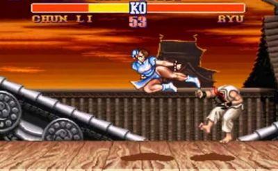 chun li street fighter ii warrior