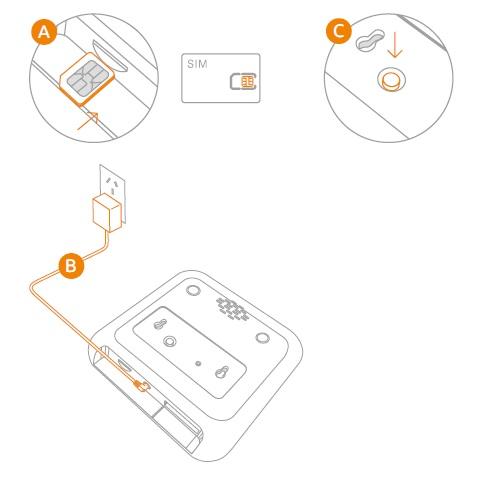 Manual instrucciones alarma WiFi + GSM + FHSS AZ043