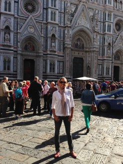 Florence - outside the Duomo