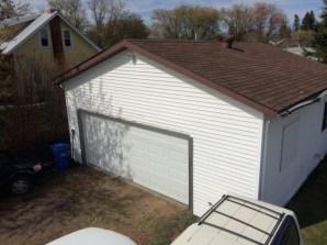 Oversized garage