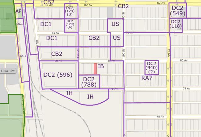 10039 80 Ave zoning
