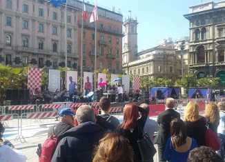 Maratona piazza duomo record