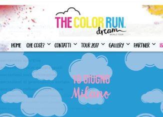 The Color Run Dream World Tour nell'area expo