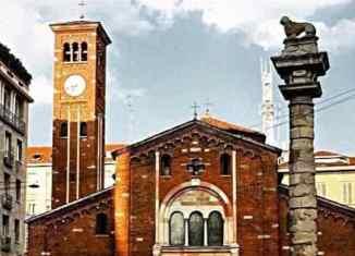 Leone Veneto in piazza San Baila