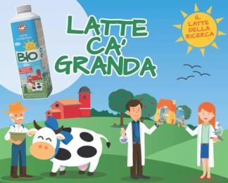 Arriva il latte Ca Granda