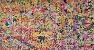 """IL-MAGO-DI-OZ-Tecnica-mista-su-tela-cm-140x140-Feofeo-2015-324x173 Feofeo """"Io sono colore - I am Colour all'Auxologico Procaccini Salute"""