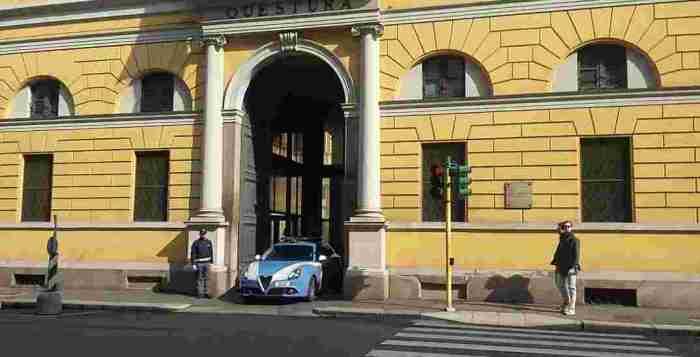 Milano. La questura di via Fatebenefratelli