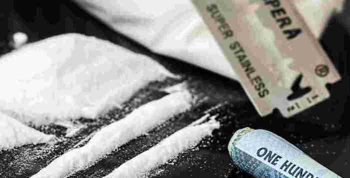 cocaina e dorga liquida