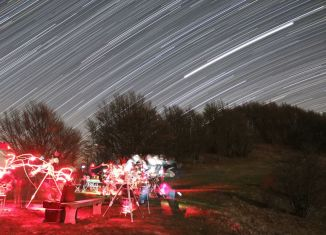 paesaggi stellari e buchi neri