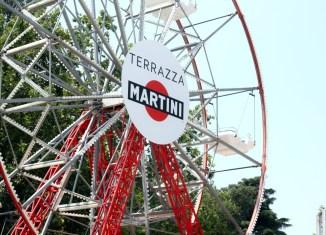Parco Sempione ruota panoramica terrazza Martini