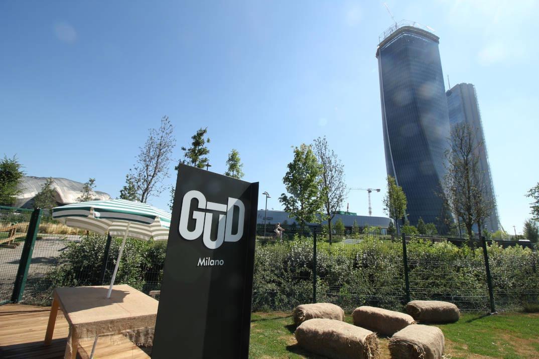 Inaugurazione spazio Gud a CityLife