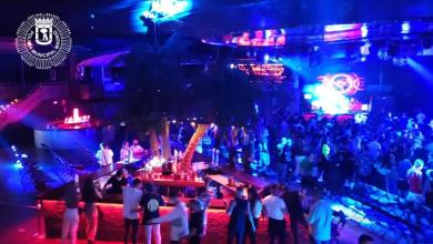 Photo of Desalojada La Riviera durante un concierto por estar el público bailando junto y la mayoría sin mascarilla