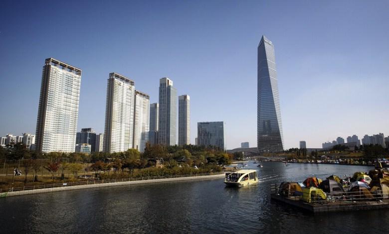 que-fue-de-songdo:-la-ciudad-de-corea-del-sur-que-prometio-ser-el-futuro-aun-no-lo-es-dos-decadas-despues