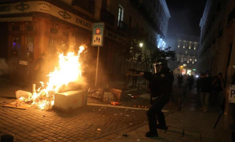 madrid-se-prepara-para-posibles-disturbios-este-sabado:-retira-contenedores-y-moviliza-al-samur