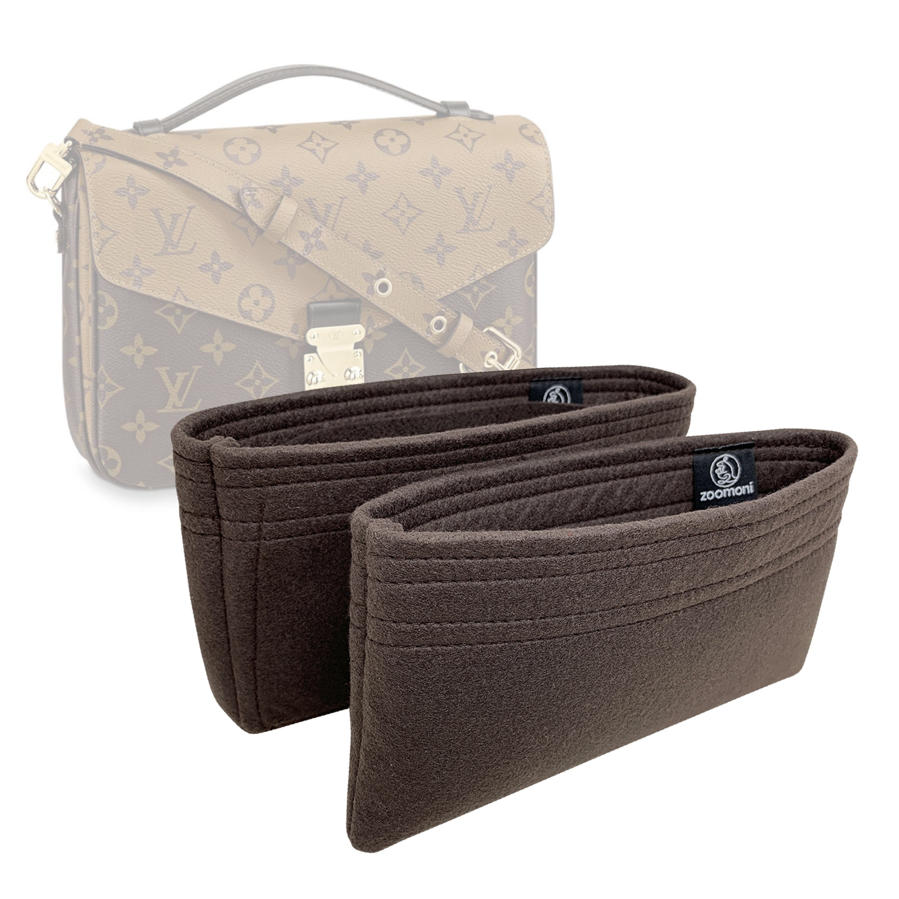 4425a10319 Louis Vuitton Pochette Metis Bag Organizer (Set of 2) – Zoomoni