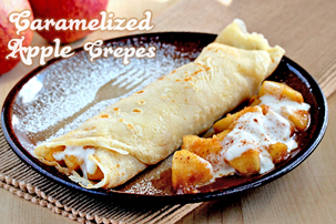 crepes with apple filling recipe with step by step pictures and list of ingredients, crepes recipe, simple crepes, delicious crepes