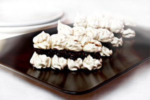 meringues with coffee filling recipe with step by step pictures, pictures, images, ingredients