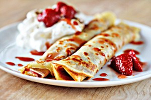 crepes with jam recipe with step by step pictures and list of ingredients, how to make crepes, crepes with jam, pictures, images, ingredients