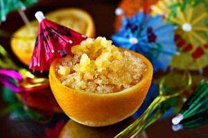 orange granita, orange granita recipe, how to make orange granita recipe with step by step pictures, orange slushie, homemade orange slushie, orange soncic drink, recipe, ingredients, pictures, images