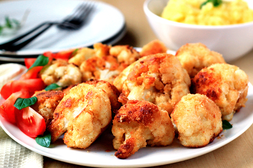 breaded cauliflower recipe with step by step pictures
