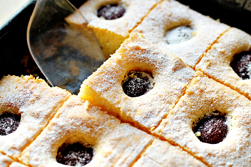 plum cake recipe with step by step picture tutorial