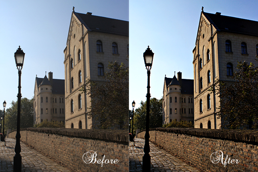 photo editing process Photoshop
