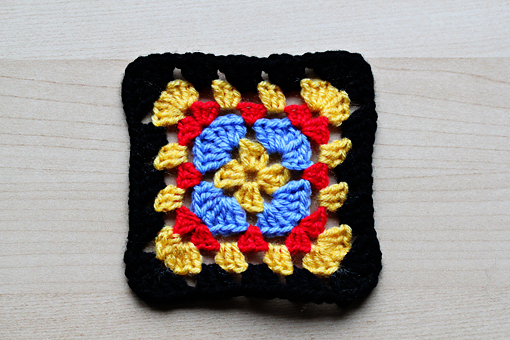 Crocheted Granny Squares « Crafts « Zoom Yummy – Crochet, Food ...