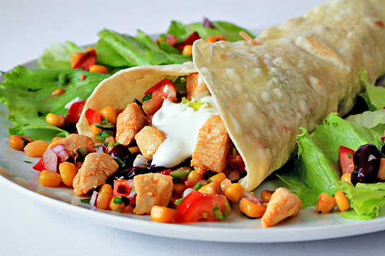chicken burritos recipe with step by step picture instructions