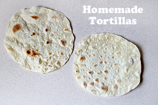 homemade tortillas recipe with step by step picture instructions