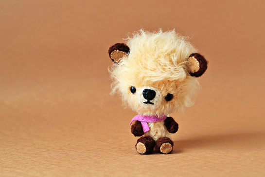 miniature crochet teddy bears pattern, zoomyummy