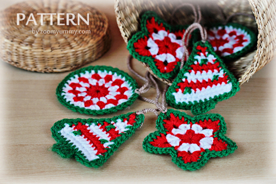 New Pattern Crochet Christmas Ornaments Crochet Zoom Yummy