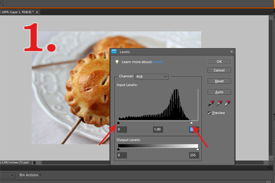 how to lighten images with Photoshop step-by-step tutorial with pictures