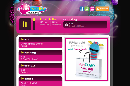 random-joy-fun-radio-running