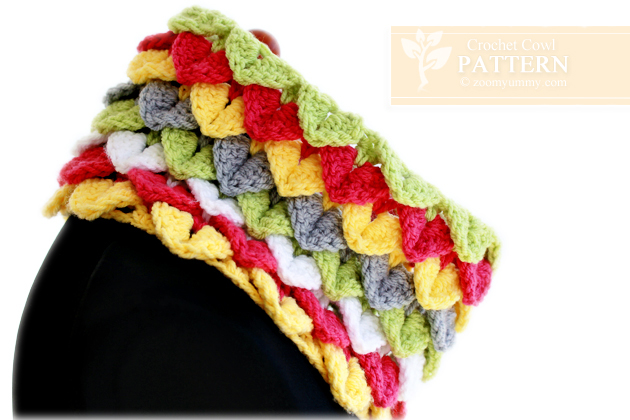 crochet-crocodile-stitch-cowl-pattern