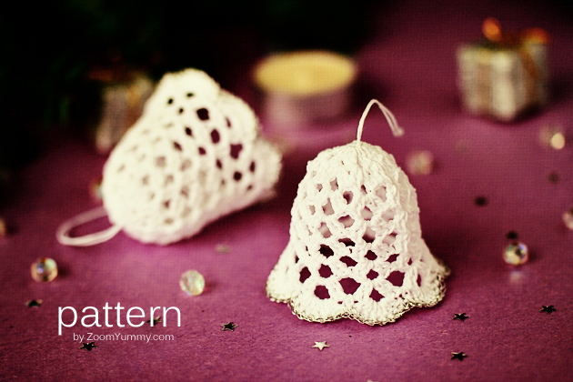 crochet-pattern-crochet-christmas-bell-ornaments