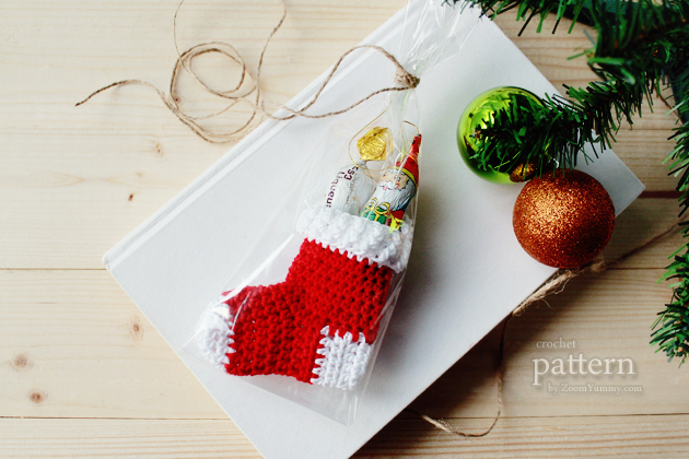 New Pattern Crochet Christmas Stocking Ornaments Crochet Zoom