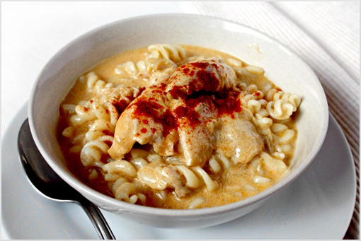 chicken with heavenly paprika and cream sauce recipe
