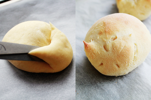 rabbit shaped dinner rolls