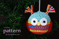 Christmas Ball - Owl