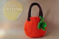 Crochet Pumpkin Bag
