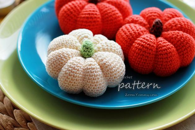crochet pattern - crochet pumpkin