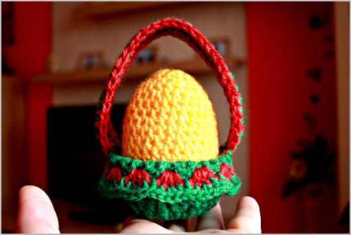 free crochet pattern - Easter egg