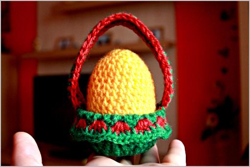 free crochet pattern - Easter egg