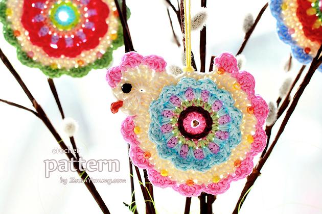 happy crochet chick - pattern