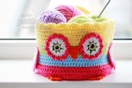 owl basket - 190