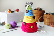 Christmas Trees With Buttons
