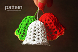 Crochet Christmas Bells Pattern