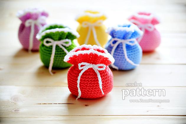 crochet pouches pattern