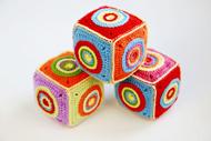 crochet soft toy cube 190